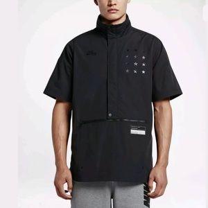 Men's Nike Air Short Sleeve Jacket Black XL